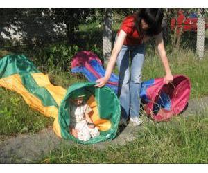 Игровой тоннель для ребенка своими руками